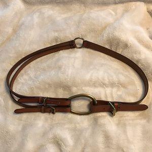 Ralph Lauren equestrian belt. Size XL